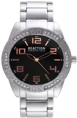 Kenneth Cole Reaction Men's Analog CZ Quartz Bracelet Watch, 48mm