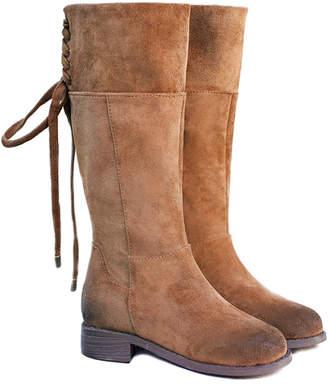 Joyfolie Girls' Chantal Microsuede Boot