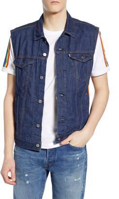 Levi's Pride Trucker Denim Vest