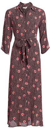 By Ti Mo Bytimo Desire Split-Sleeve Floral Maxi Dress