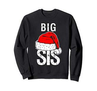 Sister Big Christmas Santa Sweater Family Matching Pajamas