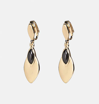 Avenue Marquise Clip-On Drop Earrings
