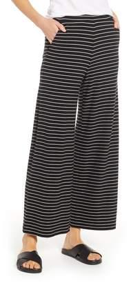 Lou & Grey Stripe Wide Leg Sweatpants