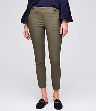 LOFT Petite Skinny Ankle Cargo Pants in Julie Fit