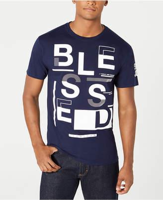 Sean John Men's Blessed Graphic T-Shirt