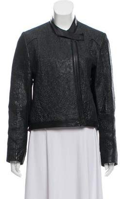 Helmut Lang Textured Leather Jacket
