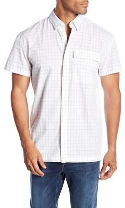 Jack and Jones Ralph Short Sleeve Slim Fit Windowpane Woven Shirt