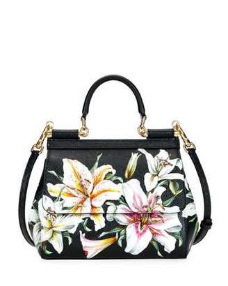 Dolce & Gabbana Sicily Medium Lilium Tote Bag