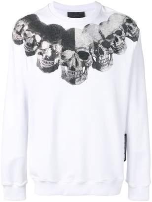 Philipp Plein skulls print sweatshirt