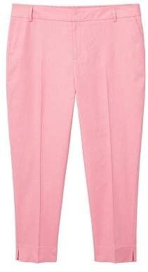 Violeta BY MANGO Linen suit trousers