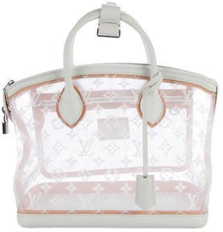 Louis VuittonLouis Vuitton Monogram Transparence Lockit Bag