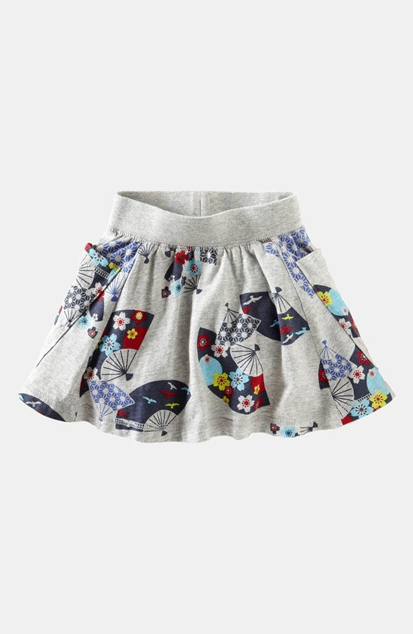 Tea Collection 'Deco Fans' Skirt (Toddler Girls)