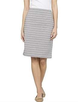 David Jones Textured Skirt