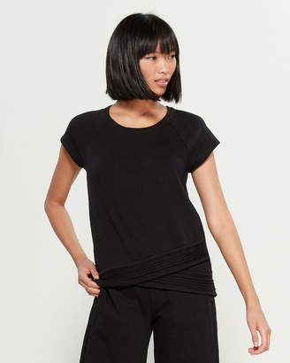 Andrew Marc Lounge Jersey Short Sleeve Top
