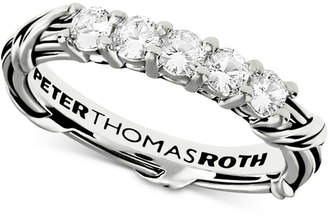 Peter Thomas Roth White Sapphire Ring (5/8 ct. t.w.) in Sterling Silver