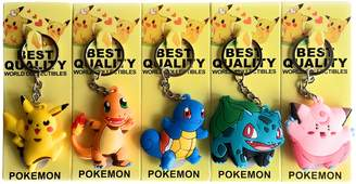 Warehouse 151 Pokémon Keychains 3D Double Sided (Dragonite, Dratini, Articuno, Zapdos, and Moltres)