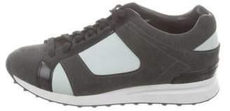 3.1 Phillip Lim Suede Low-Top Sneakers