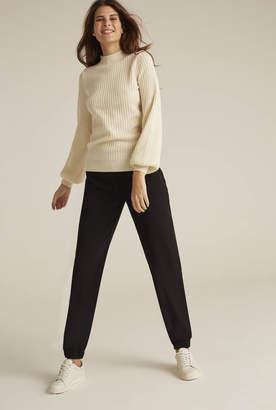 Long Tall Sally Cashmere Mix Balloon Sleeve Sweater