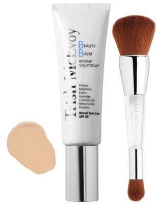 Trish McEvoy Beauty Balm & Wet/Dry Brush Set