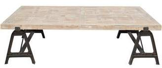 Low Recycled Wood Coffee Table
