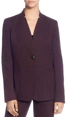 T Tahari Notch Neck Blazer