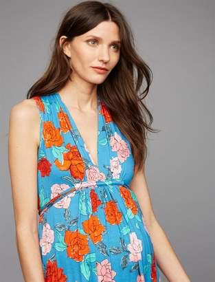 Rachel Pally Empire Waist Maternity Maxi Dress