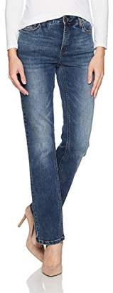 Jones New York Women's Lexington Straight Denim Jean