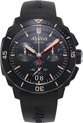 Alpina Seastrongダイバー300クロノグラフ
