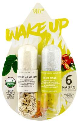 Oliver Bonas Oleum Vera Wake Up Face Mask Set