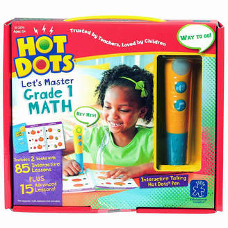Learning Resources Educational Insights Hot Dots Let's Master Grade 1 Math Set With Talking Pen