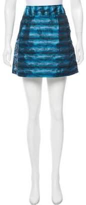 MICHAEL Michael Kors Brocade Mini Skirt