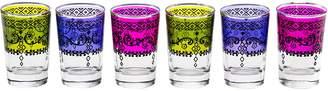 Casa Uno Turkish Marmaris Tea Glass (Set of 6)