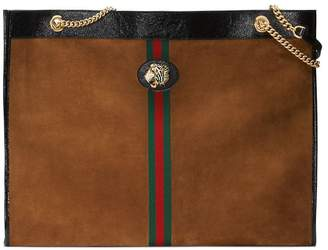 Gucci Maxi tote with tiger head