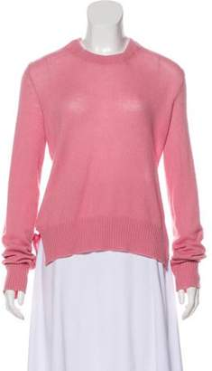 Prada Backless Cashmere Sweater Pink Backless Cashmere Sweater