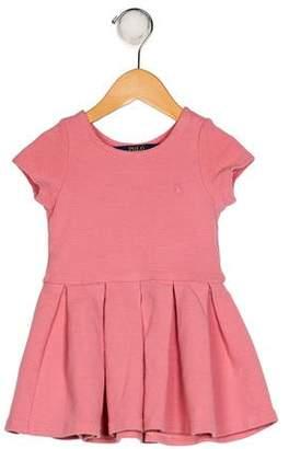 Polo Ralph Lauren Girls' A-Line Pleated Dress