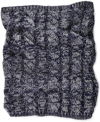 Muk Luks Cable-Knit Funnel Scarf - Men