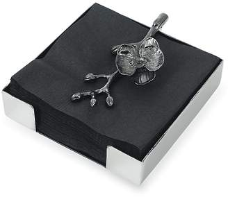 "Michael Aram Black Orchird"" Cocktail Napkin Holder"