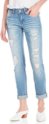 dollhouse Distressed Skinny Jeans $54 thestylecure.com