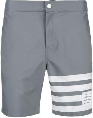 Thom Browne 4-Bar Swim-Tech Swim Short
