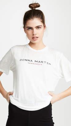 Baja East Donna Martin Burnout Tee