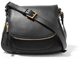 TOM FORD - Jennifer Medium Leather Shoulder Bag - Black $2,950 thestylecure.com