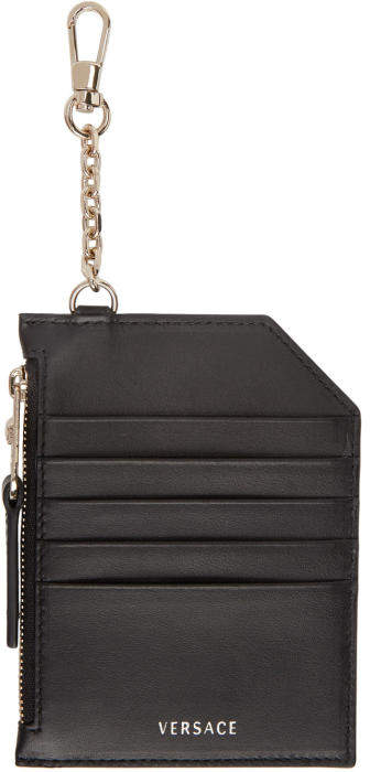 Versace Black Multi Card Holder