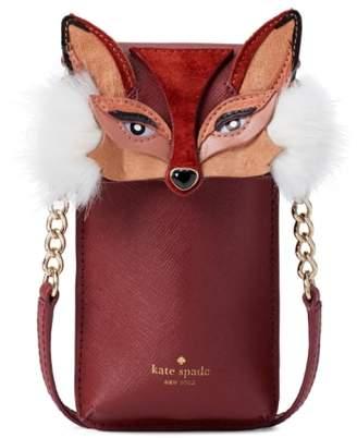 Kate Spade fox iPhone crossbody bag