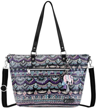 The Sak Artist Circle Zip Top Satchel 107397