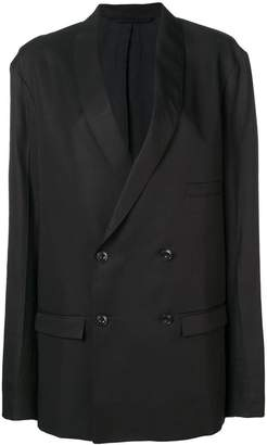 Lemaire double breasted boyfriend blazer