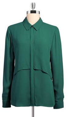 Vince Camuto Double Layered Blouse