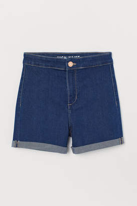 H&M Denim shorts High Waist