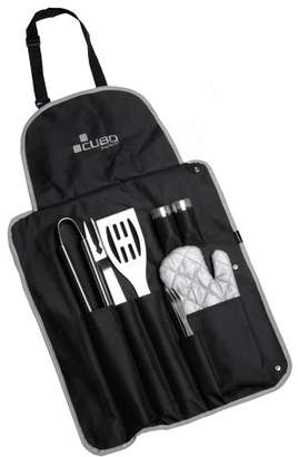 Berghoff Cubo 9 Piece BBQ Set Wrap and Apron Combo Set