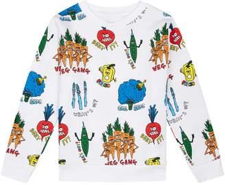 Stella McCartney Vegetable Gang Sweatshirt