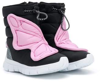 Sophia Webster Mini drawstring padded snow boots